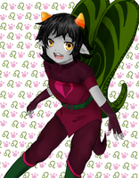 Nepeta the Rogue of Heart by BiloGinzeng