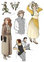 Vorkosigans and friends by lauramw