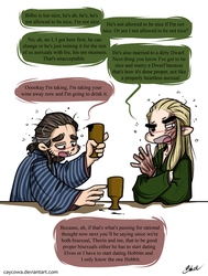 Hobbit - We Three Kings - Prefect by caycowa