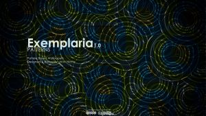 Examplaria : Patterns v1 (Cover Page) by csa1414