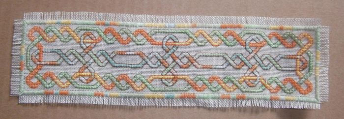 Teresa Wentzler - Knotwork Bookmark by Fusainne
