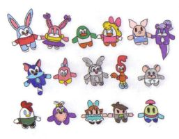 Tiny Toons Pook-a-Looz by KessieLou