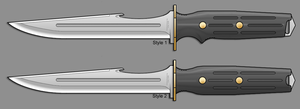 Archon Combat Knife by sharp-n-pointy