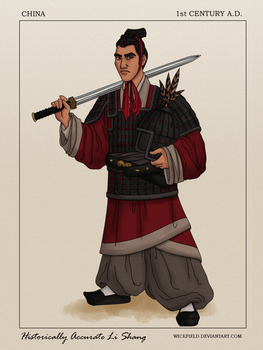 Historically Accurate Li Shang by Wickfield