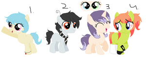 Random Adoptables Batch {CLOSED} by LittleSenpaiBabe