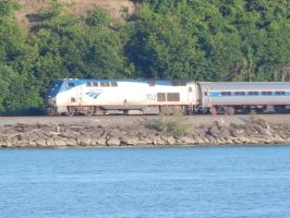 Amtrak P32AC-DM #702 by Tracksidegorilla1