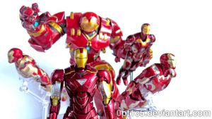 Iron Man Armors 03 by 0PT1C5