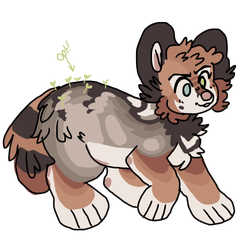 Coyote pup adopts by snowku