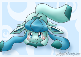 Collab: Glaceon by Isi-Daddy