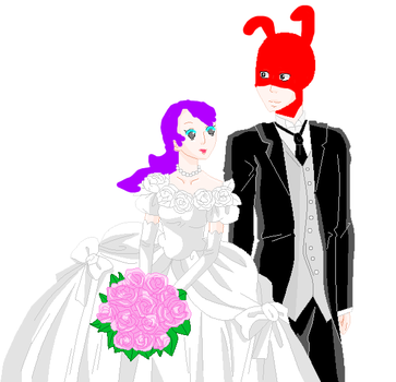 Me and the Noids wedding by SuperSmashLexi