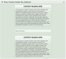 Shiny Content-holder box (Default) by CypherVisor