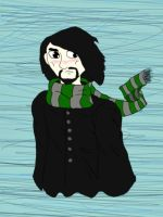 Snape's Scarf by ZombiexFood