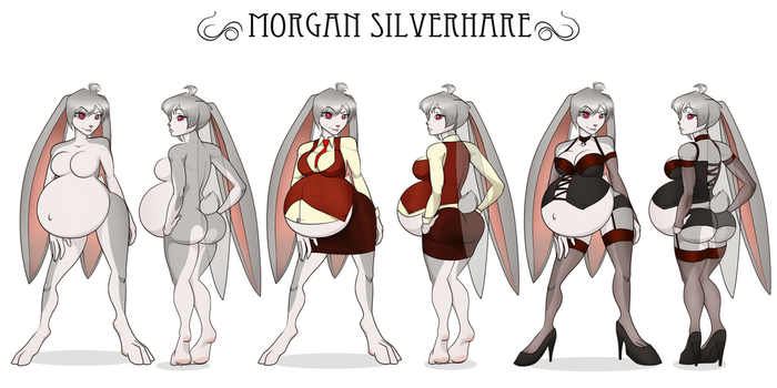 Morgan Silverhare by RiddleAugust