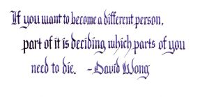 David Wong - Become a Different Person by MShades