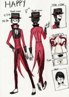 Happy's Ref. Sheet by Happy-Masked-Mystery
