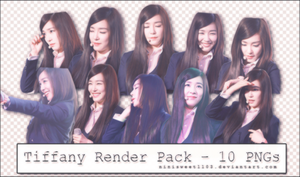 RENDER PACK TIFFANY - BY NINI #1 by Ninisweet1103