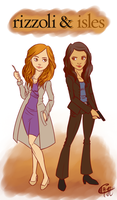 Rizzoli and Isles by Ramavatarama