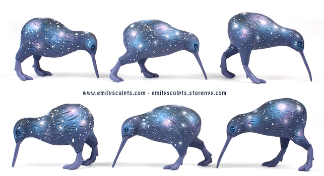 Galaxy Kiwis by emilySculpts