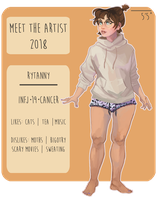 Meet The Artist | 2018 by rytanny