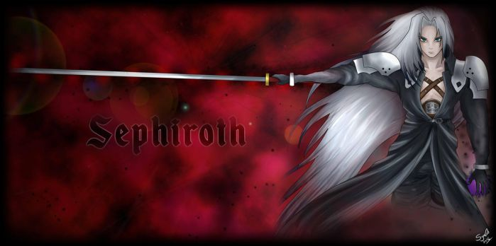 Sephiroth Wallpaper by LunaSyney