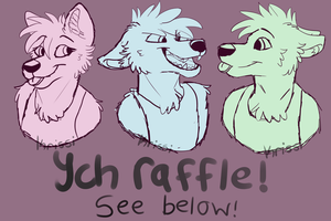 YCH Raffle //*CLOSED!* by Krissi2197