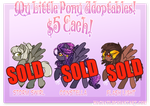 MLP Adoptable Batch 5 [SOLD] by Machati