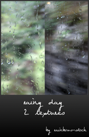 rainy day textures by rainbows-stock