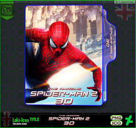 The Amazing Spider Man 2 (2014)3D by Loki-Icon