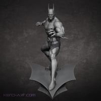 Bruce Wayne Batman Beyond Front by kdoyle9