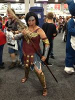 Gladiator Wonder Woman by Winged-warrior