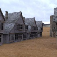 Low Polygon Medieval Buildings 1 by VanishingPointInc