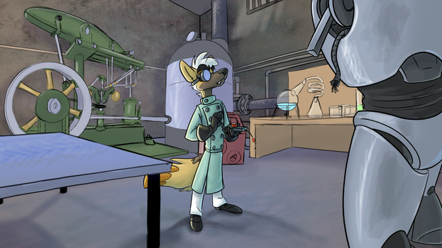 Mad Science by CoyoteEsquire