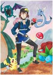 A year with Pokemon Go by MorisatoMegumi