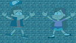 Dipper and Mabel in Underwater Peril (Revised) by CoreyAMurray