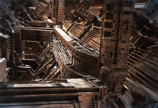 Interior Support Structure by HalTenny