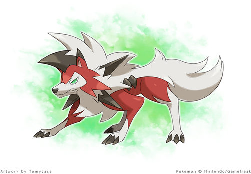 Lycanroc Eclipse Form by Tomycase