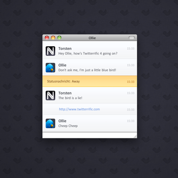 Twitterrific 4 for Adium by novoo