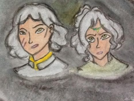 Lin and Su Yin BeiFong by Elements27