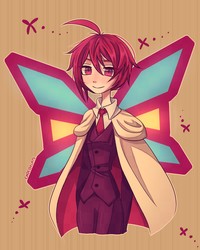 Phantom Thief Butterfly by Chocoelats
