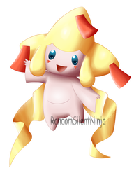 Pokemon - Shiny Jirachi by RandomSilentNinja