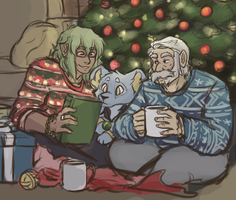 JfT Christmas 2017 by ReagentNein