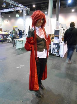 EpicCon Frankfurt 2016 cosplay: Grell 2 by Lalottered