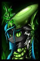 Alien Chrysalis by flamevulture17