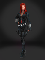 Black Widow by Sticklove