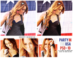 Party in the usa - psd 1O. by Believe577