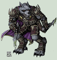 worgen rogue by rusel1989