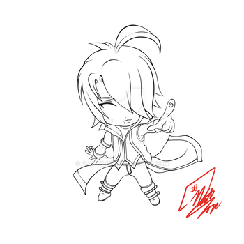 Lord Noir Chibi by Zjacklee