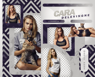 PACK PNG 880|CARA DELEVINGNE by MAGIC-PNGS