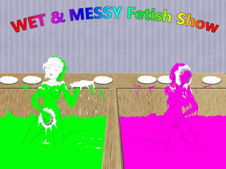 wet and messy fetish show by sg19001