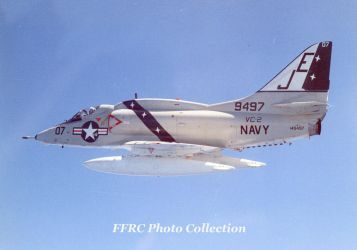 A-4L BuNo 149497 VC-2, 1975 by fighterman35